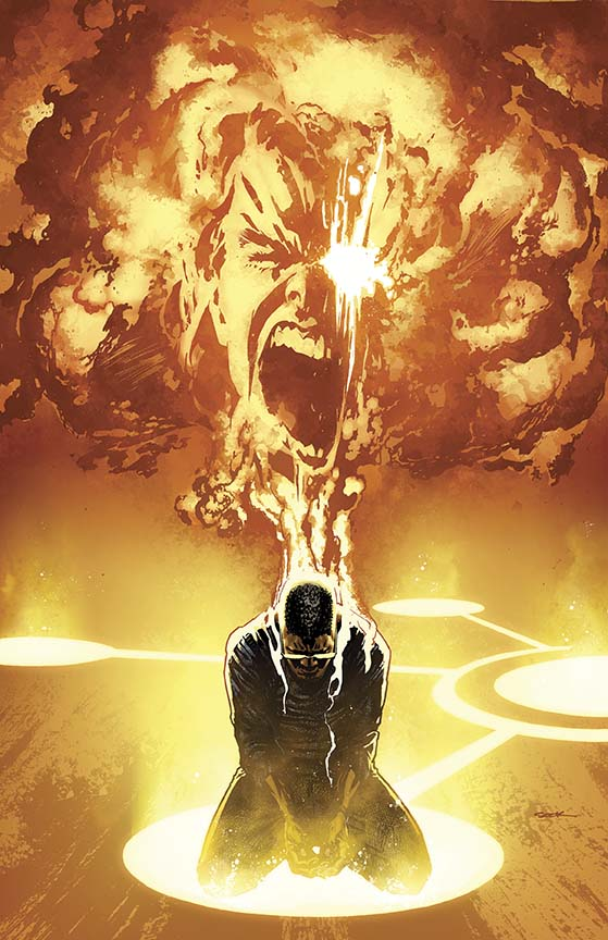 The New 52 - Futures End #5 cover by Ryan Sook
