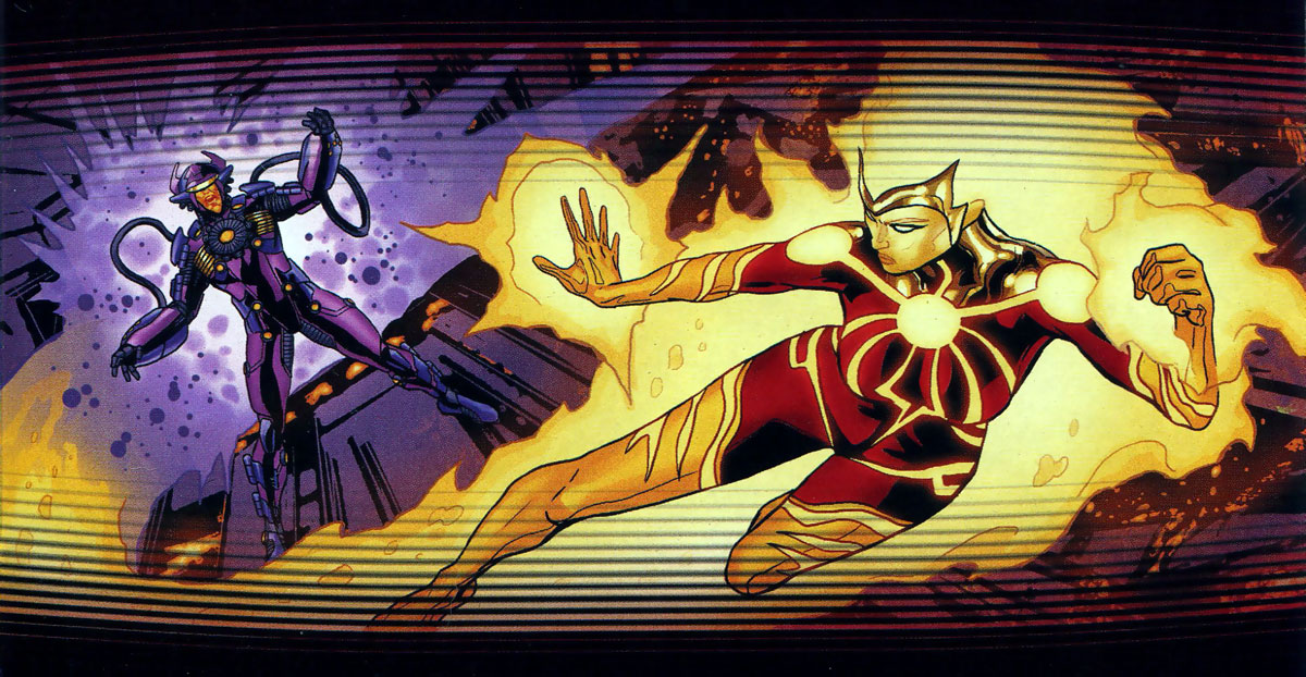 New 52 Futures End Teaser - Firestorm Female