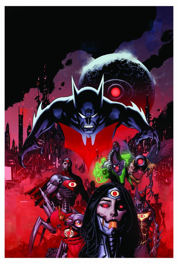 The New 52: Futures End #0 cover by Ryan Sook
