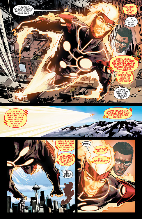 Firestorm from The New 52: Futures End #1