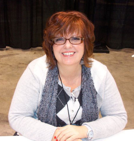 Gail Simone writer of Batgirl and Firestorm