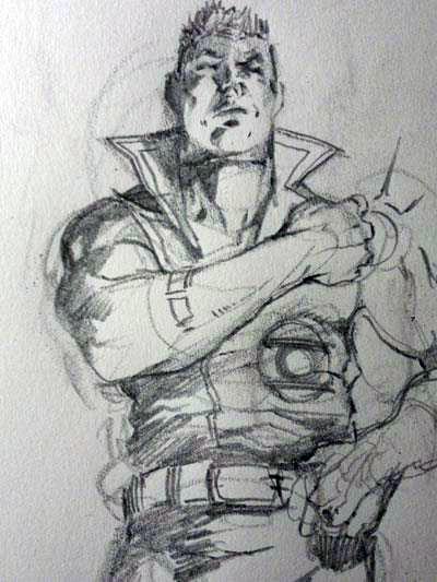 Guy Gardner from Justice League International by Yildiray Cinar