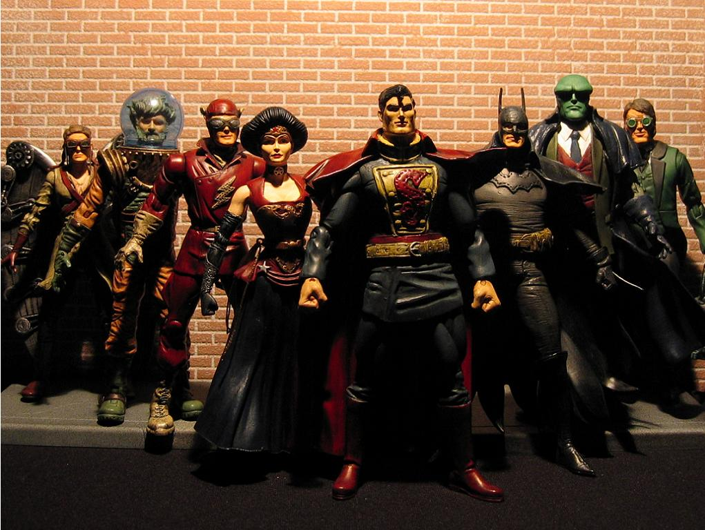 Gaslight Justice League Action Figure Customs by Sillof