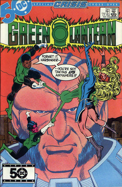 Green Lantern #194 cover dated November 1985
