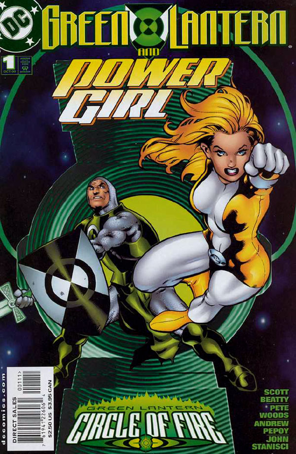 Green Lantern Power Girl #1 by Scott Beatty and Pete Woods