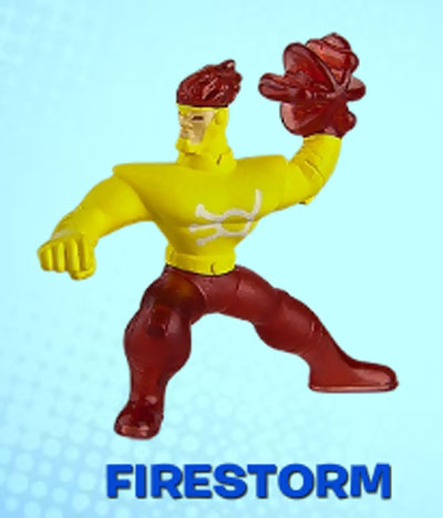 Batman: The Brave and the Bold McDonalds Happy Meal toys Firestorm