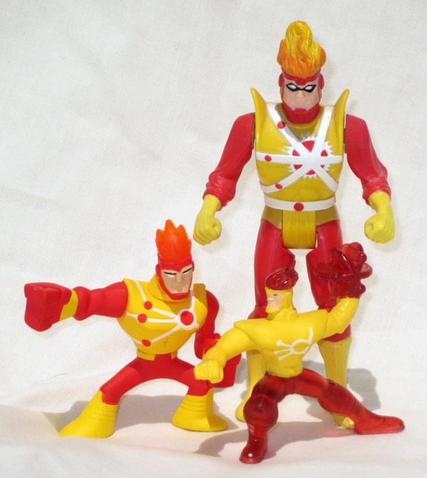 McDonalds Happy Meal Toy Batman The Brave and the Bold Firestorm size