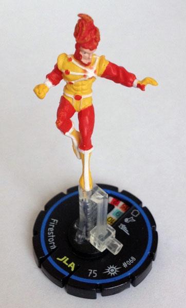 DC Heroclix Cosmic Justice Firestorm