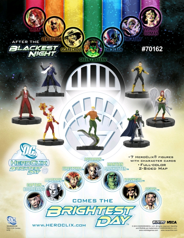 DC Brightest Day HeroClix Action Pack