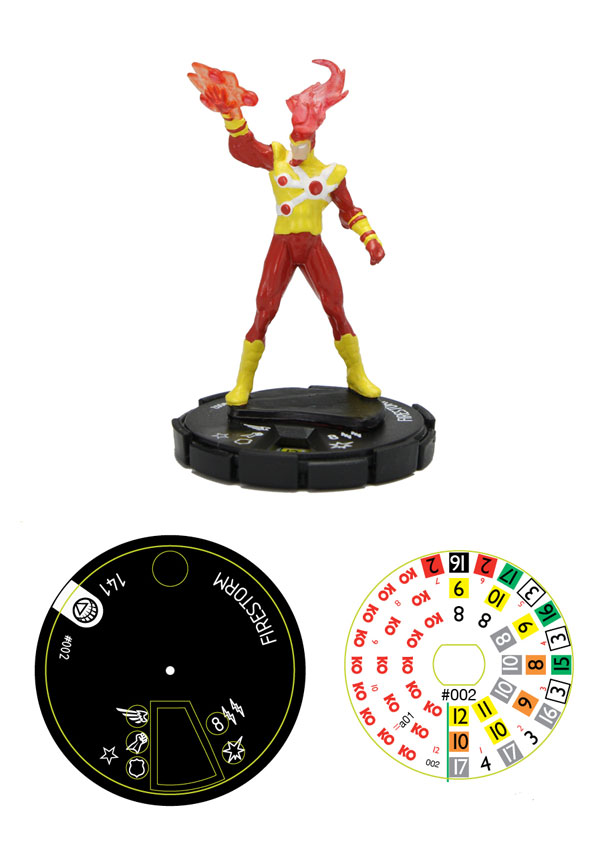 DC Brightest Day Firestorm HeroClix