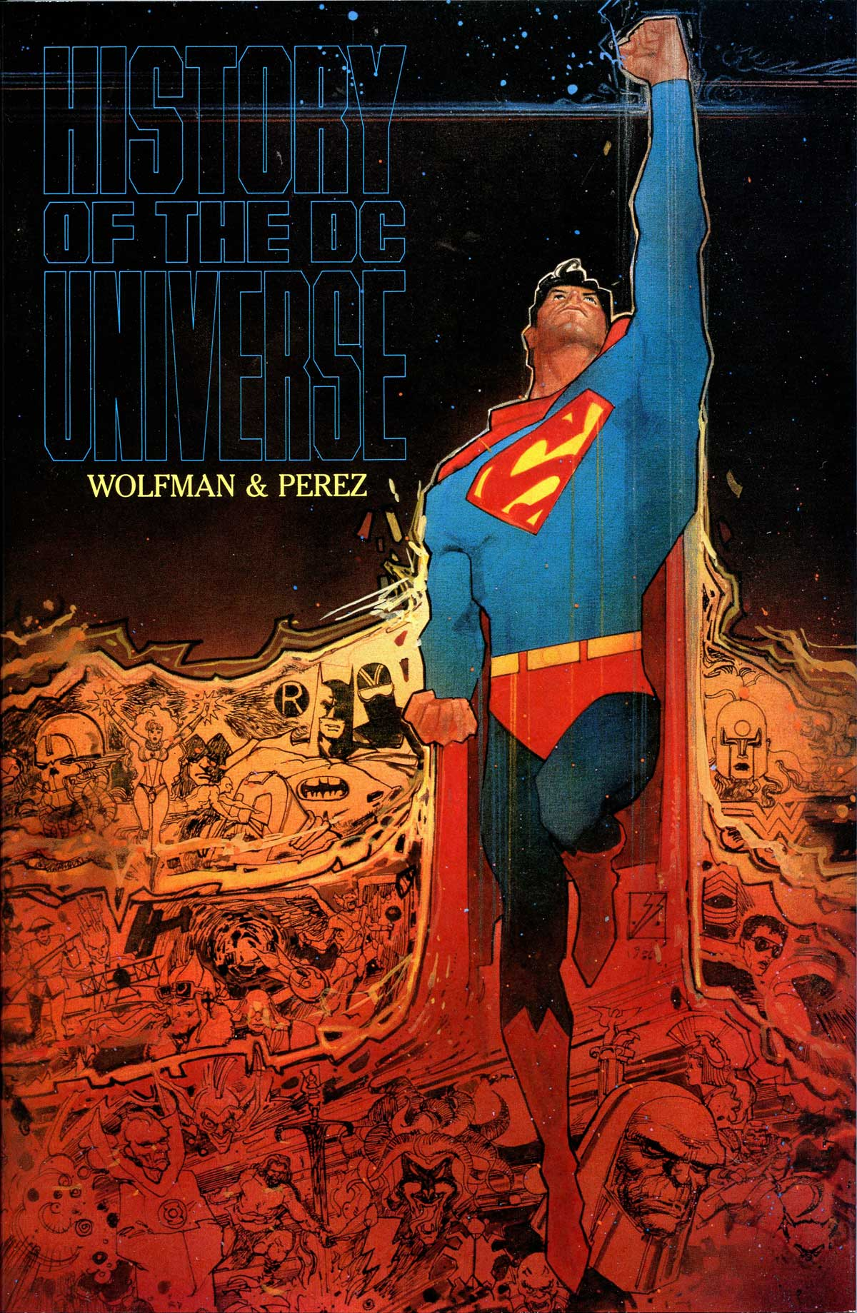 History of the DC Universe Hardcover by Bill Sienkiewicz