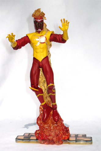 Jason Rusch Firestorm action figure on Big Bang Theory