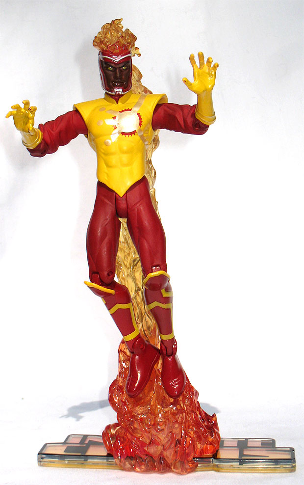 Infinite Crisis Firestorm action figure