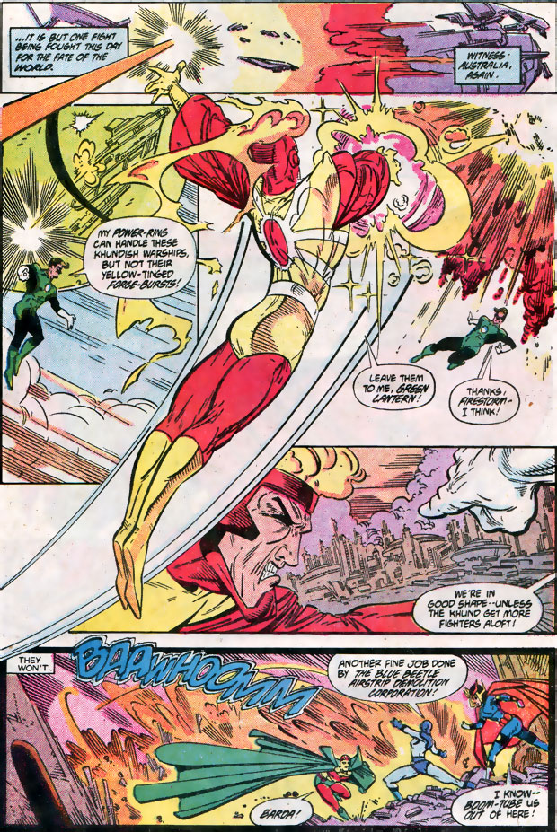 Todd McFarlane draws Firestorm in DC Invasion!