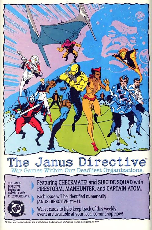 Janus Directive advertisement