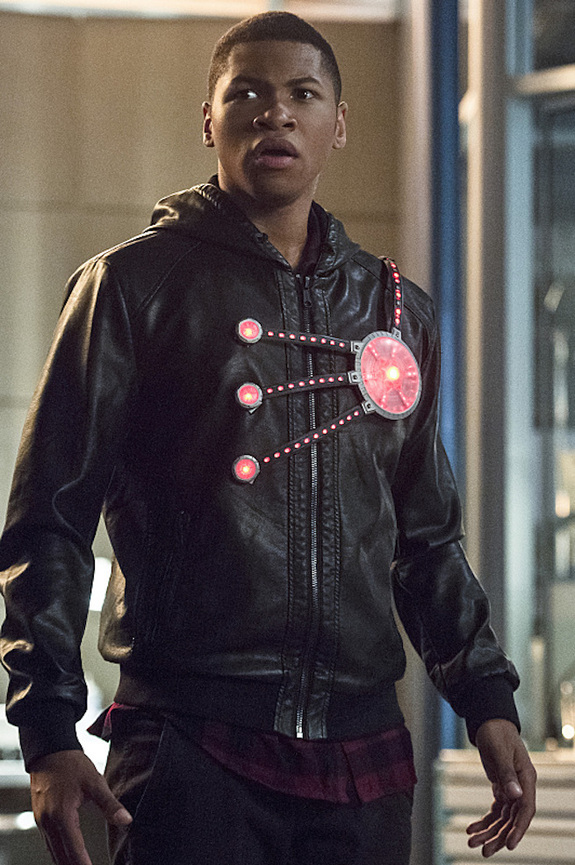 Jefferson Jackson as the new Firestorm played by Franz Drameh