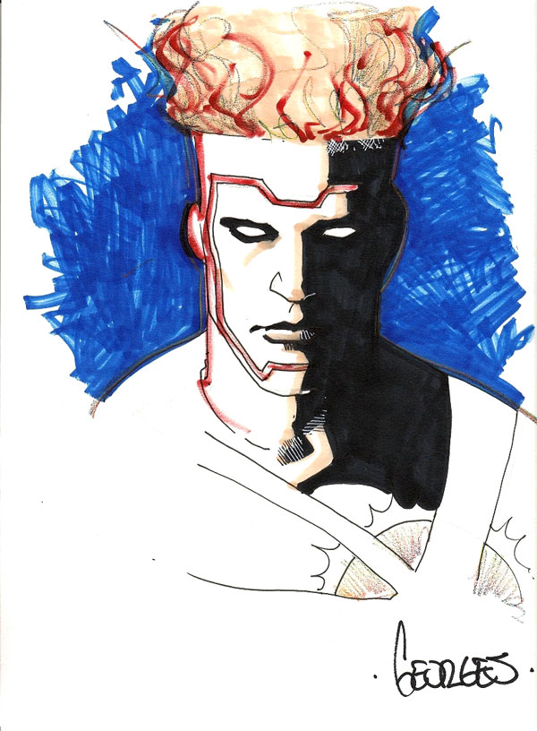 Firestorm sketch by Georges Jeanty from fizzit-fzam.blogspot.com