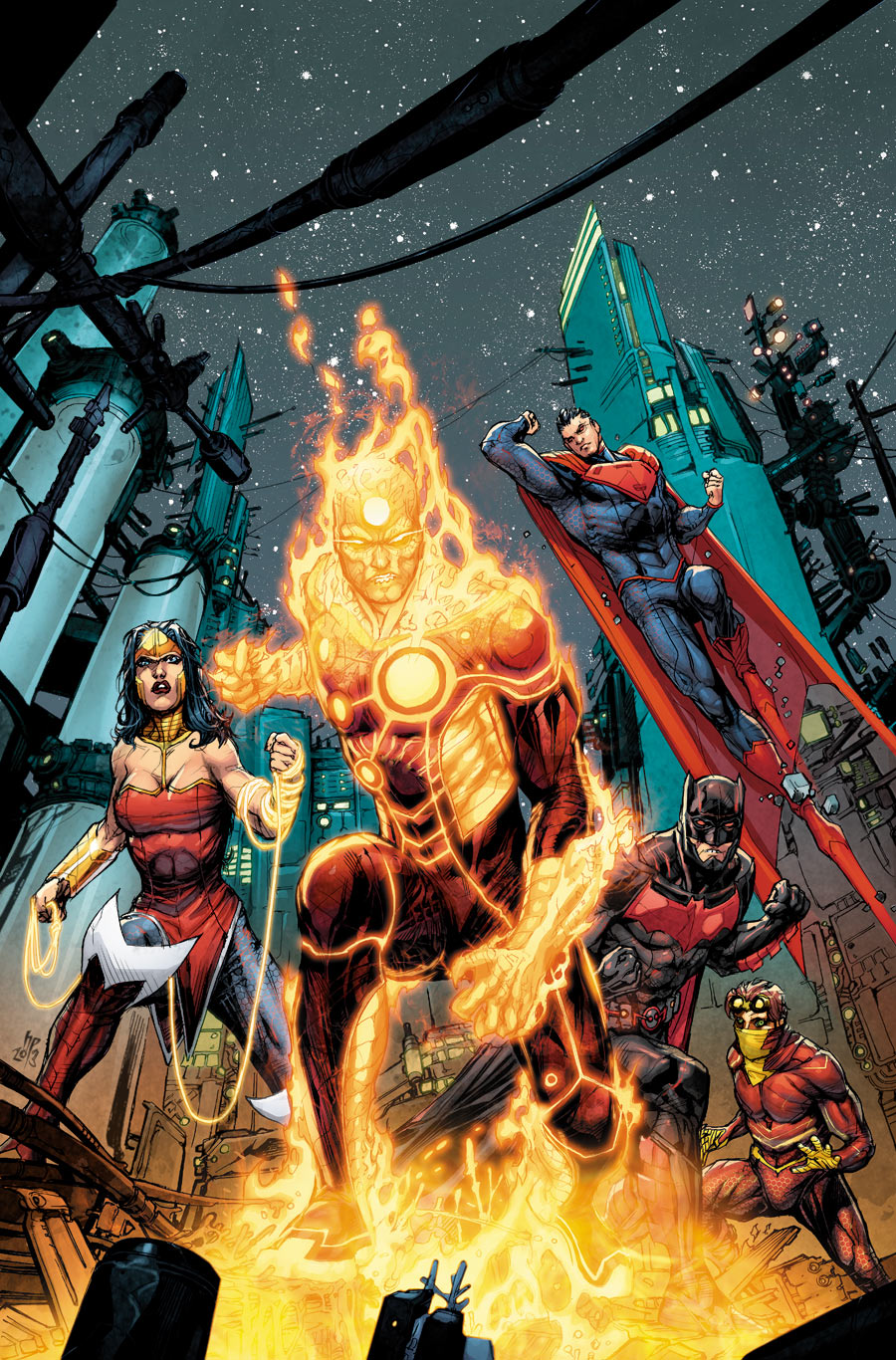 Justice League 3000 #5 cover by Howard Porter