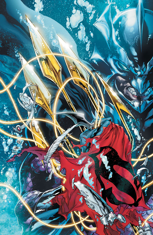 Justice League #17 cover by Ivan Reis, Joe Prado, and Rod Reis