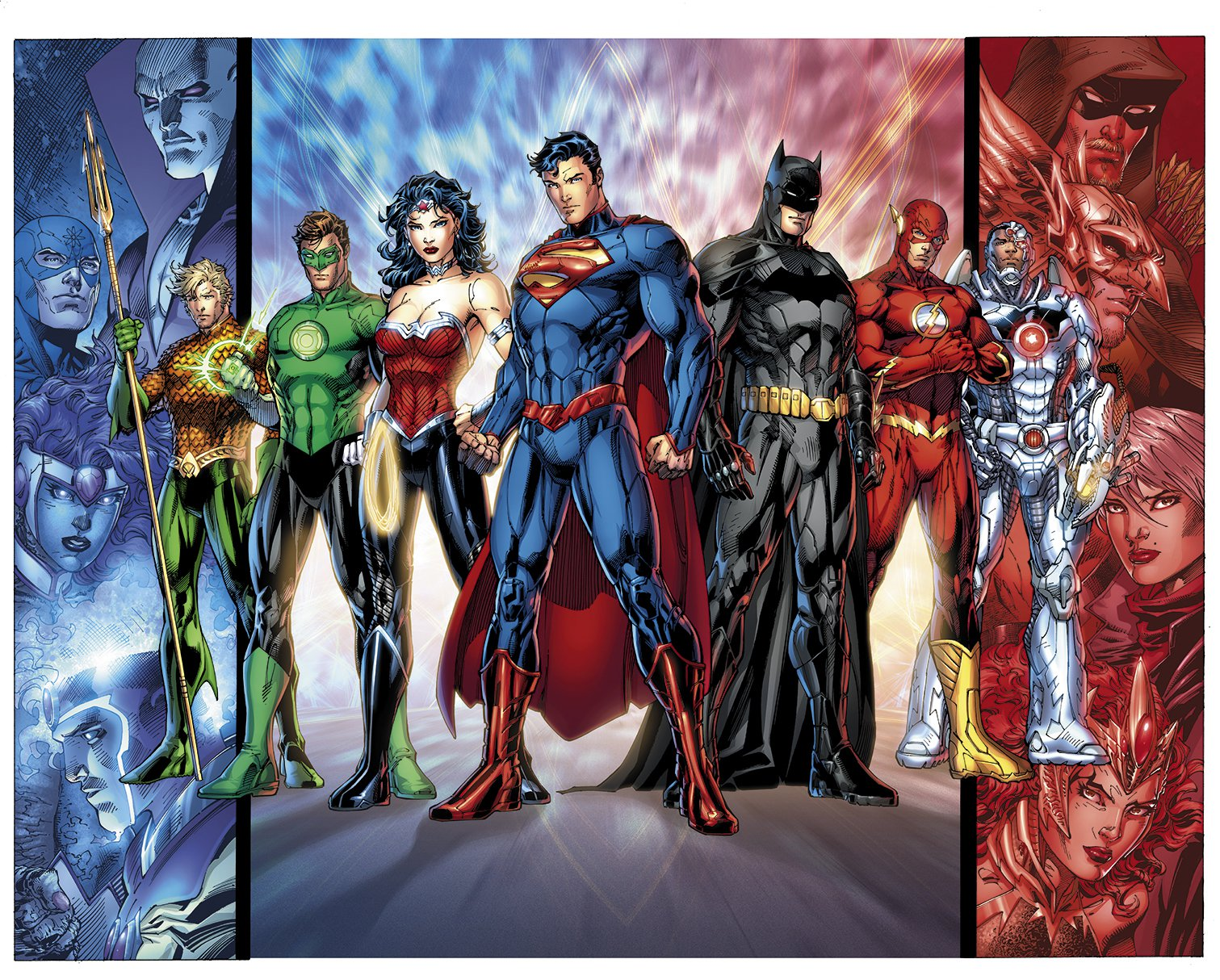 DC Relaunch: Justice League by Jim Lee