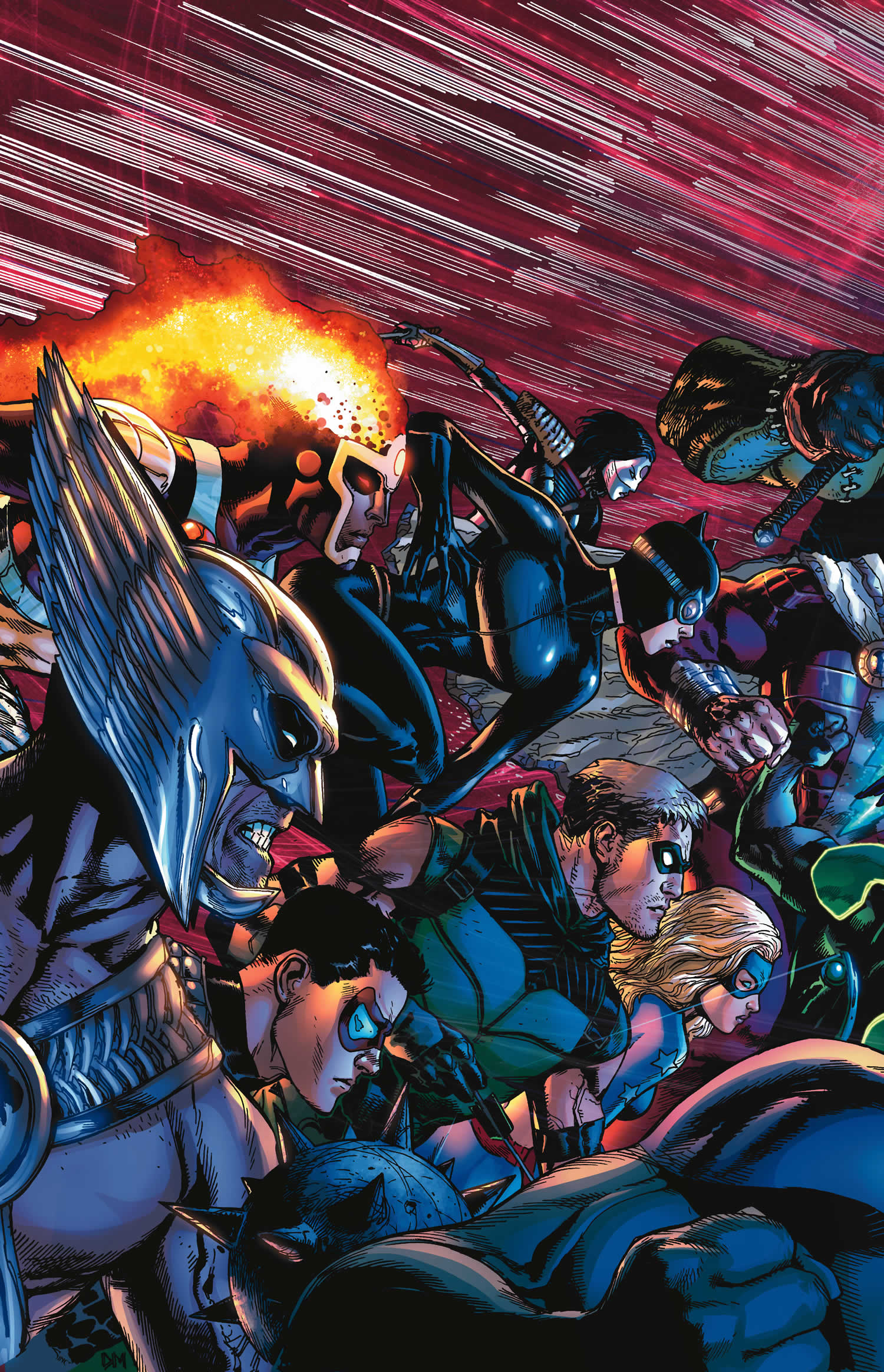 Justice League of America #7 cover by Doug Mahnke