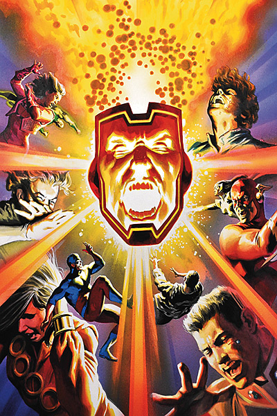 JLA/The 99 #4 featuring Firestorm