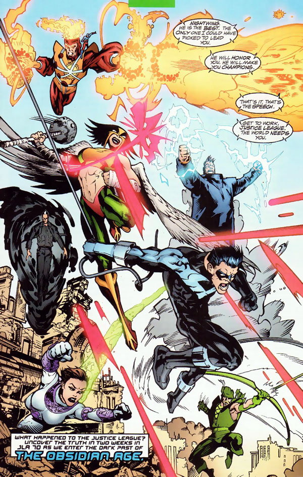 JLA #69 by Joe Kelly, Yvel Guichet, and Mark Propst