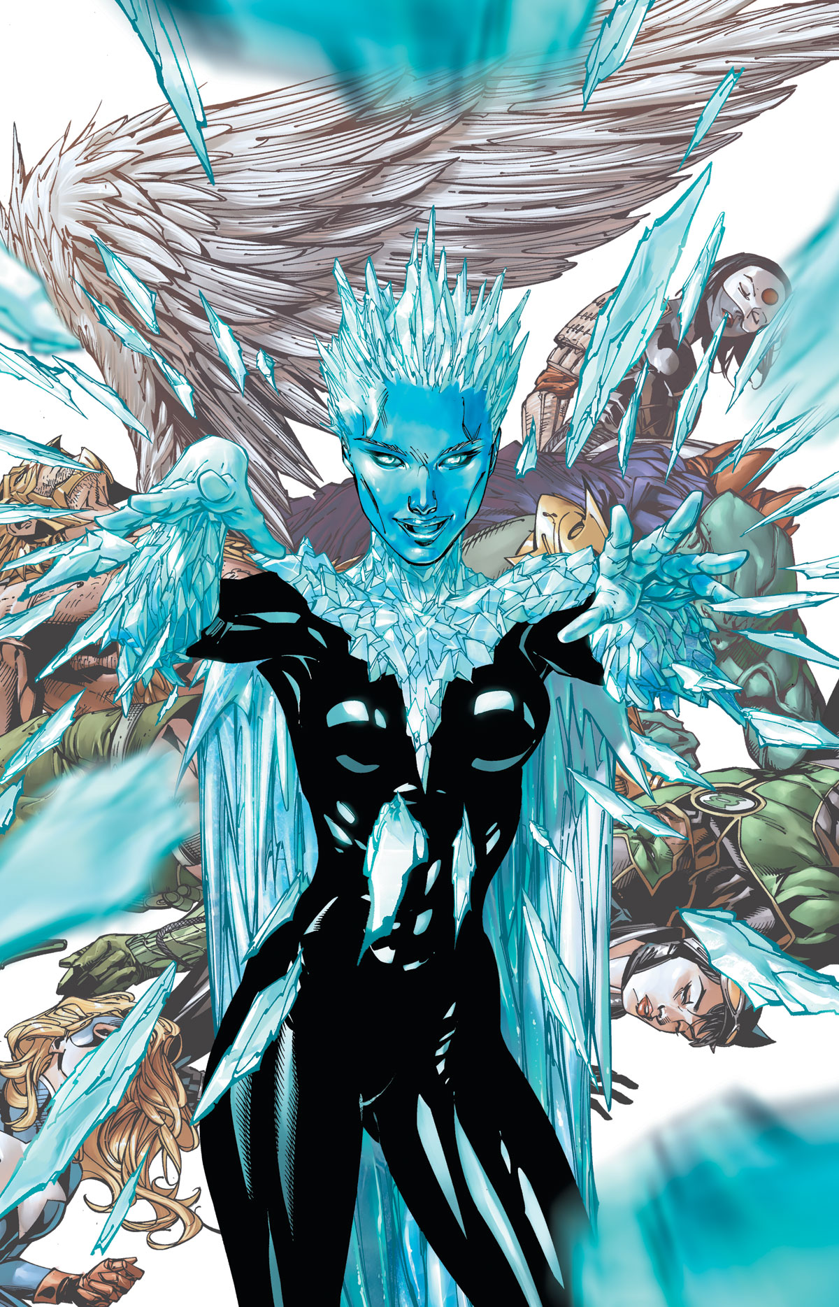 Justice League of America #7.2: Killer Frost cover by Tony S. Daniel