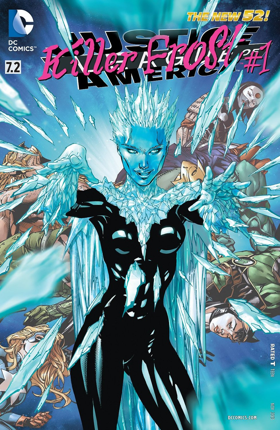 Justice League of America #7.2: Killer Frost #1 by Sterling Gates, Derlis Santacruz, and Tony S Daniel