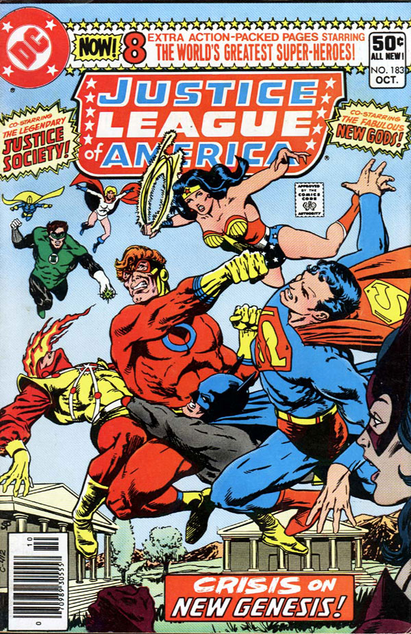 Justice League of America #183 cover by Jim Starlin