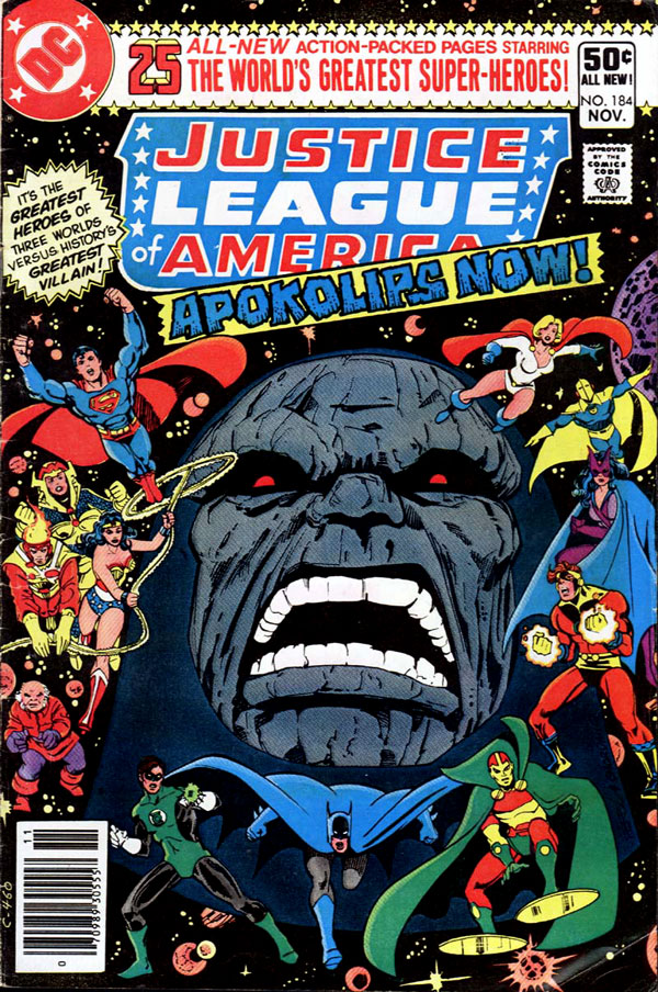 Justice League of America #184 cover by George Perez and Dick Giordano