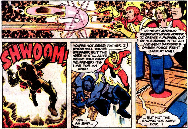 Justice League of America #185 featuring Darkseid versus Firestorm