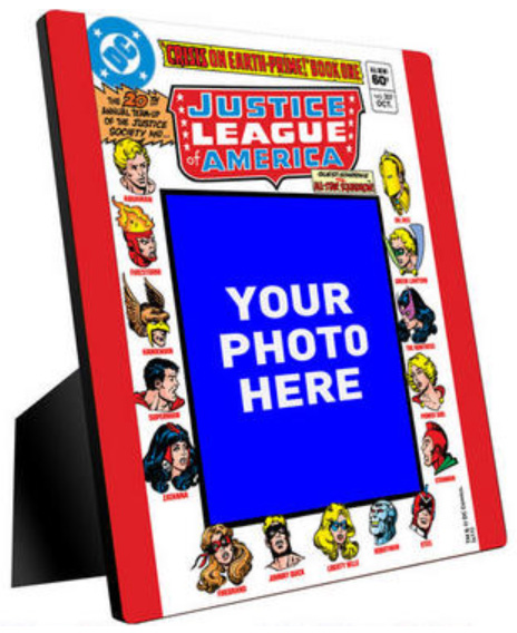 Justice League Customizable Photo Panel