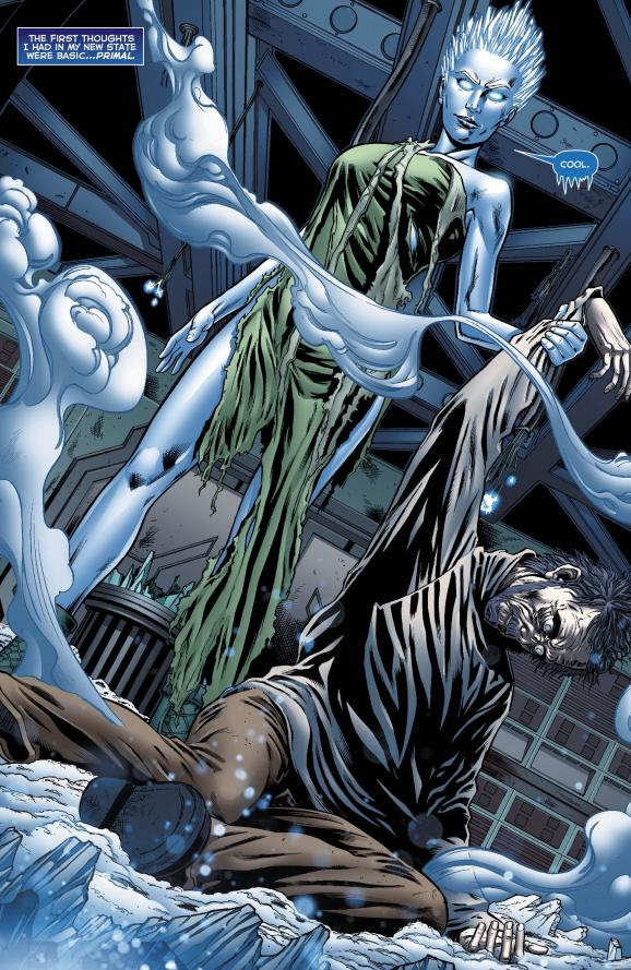 JLA #7.2: Killer Frost preview on DC Comics by Sterling Gates, Derlis Santacruz and Brett Smith