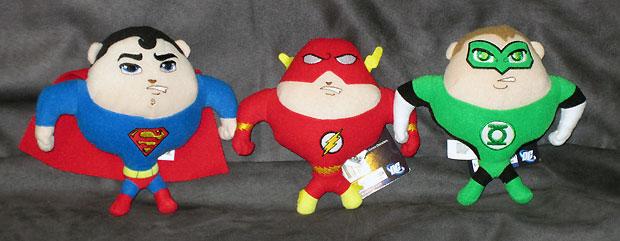 DC Universe JLA Plush Toys