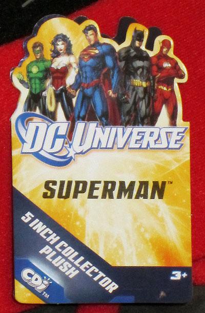 DC Universe JLA Plush Toy Tags