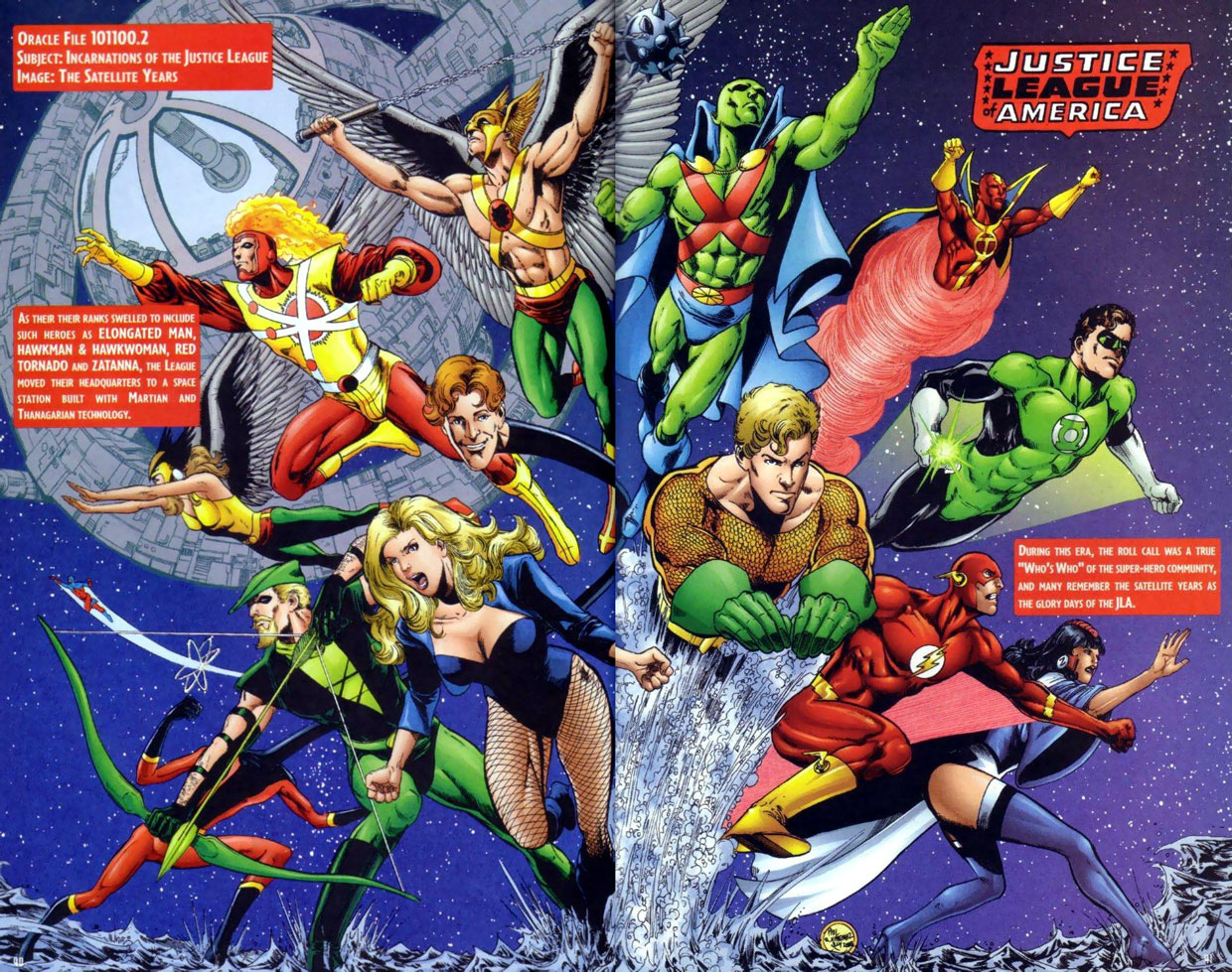 JLA Secret Files #3 - Incarnations of the JLA: The Satellite Years by Scott Beatty and Phil Jimenez