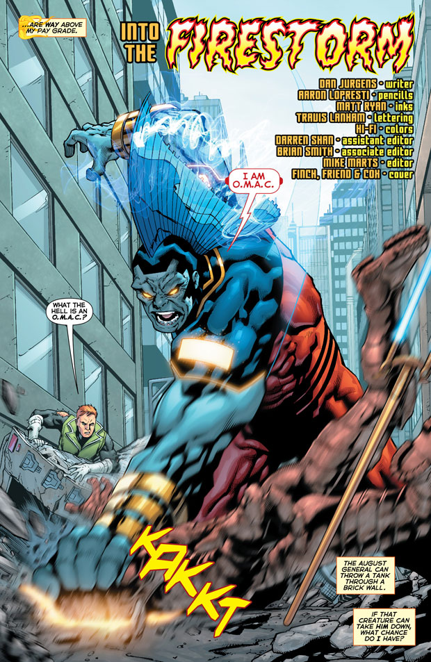 Justice League International #9 by Dan Jurgens, Aaron Lopresti, Matthew Ryan, and Hi-Fi