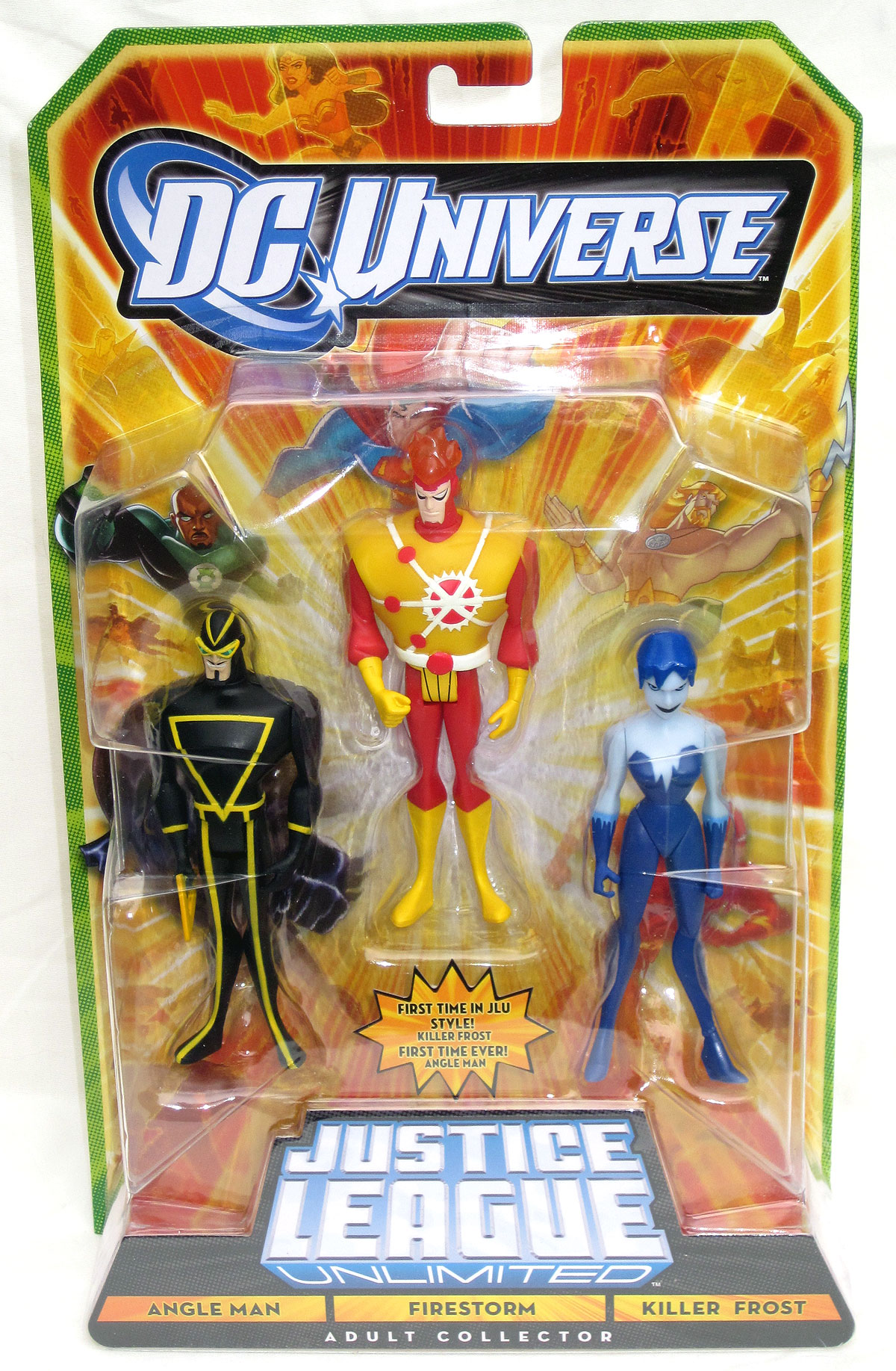 Mattel Convention Exclusive Justice League Unlimited 3-Pack: Angle Man, Killer Frost & Firestorm