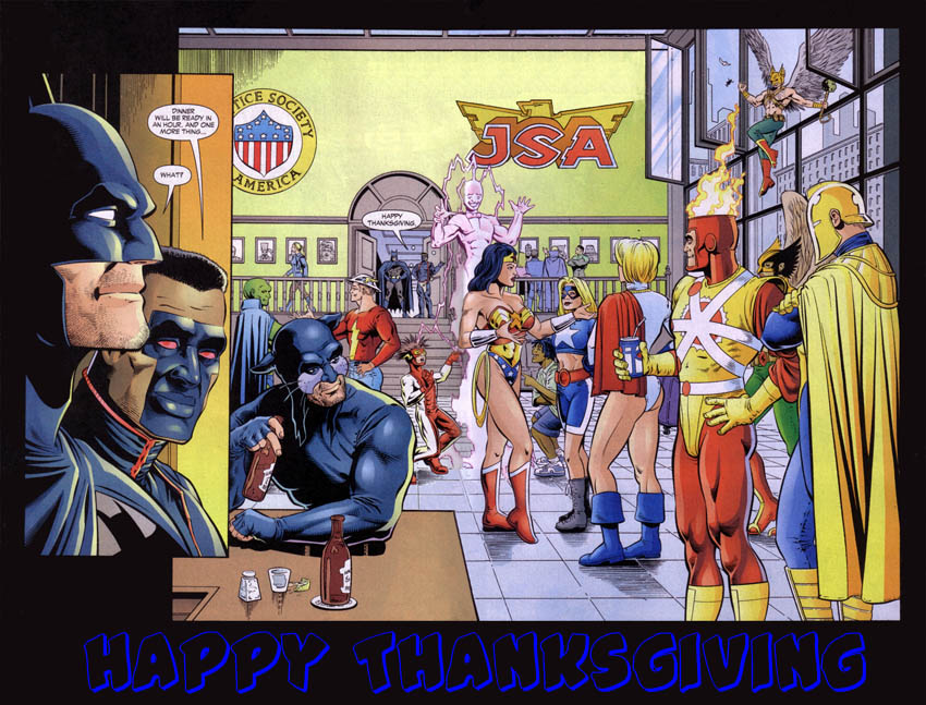 Happy Thanksgiving from Firestorm Fan