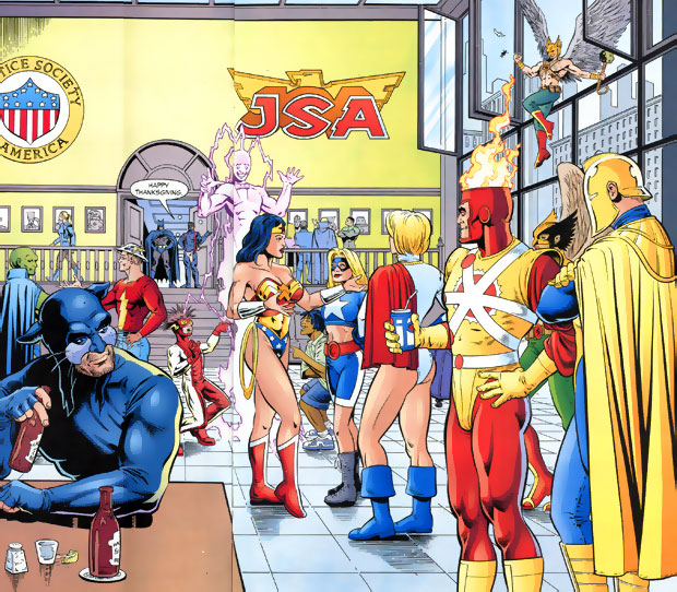 Happy Thanksgiving from FIRESTORM FAN - JSA #54