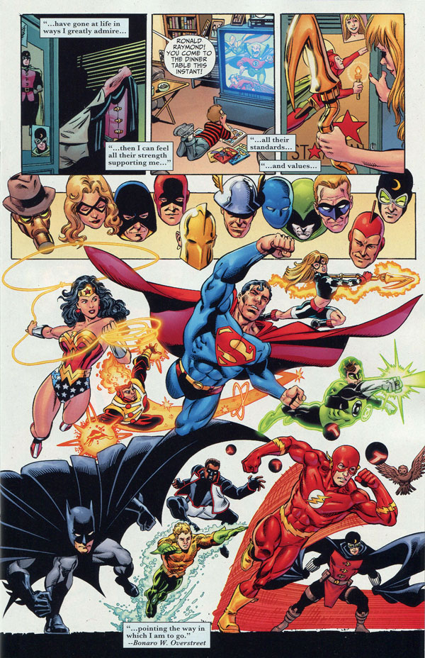 Justice Society of America #50 featuring Firestorm by George Perez