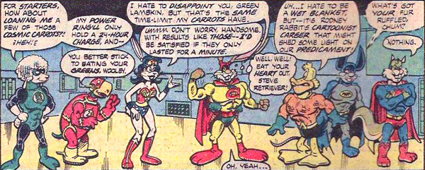 Just'a Lotta Animals from Captain Carrot and His Amazing Zoo Crew