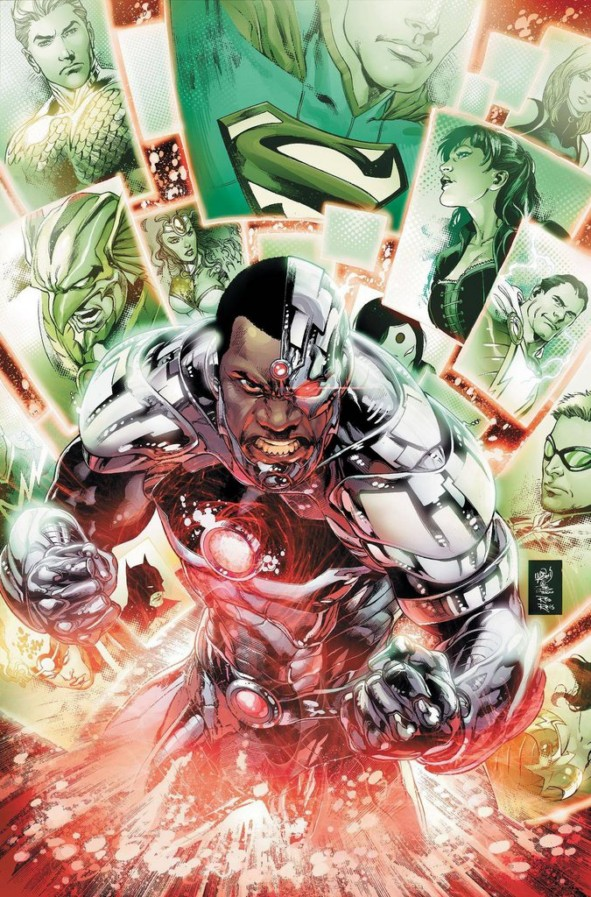 Justice League #18 cover by Ivan Reis, Joe Prado, and Rod Reis
