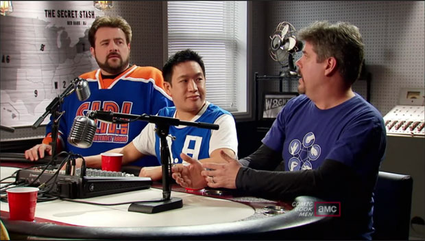 Kevin Smith on Comic Book Men on AMC
