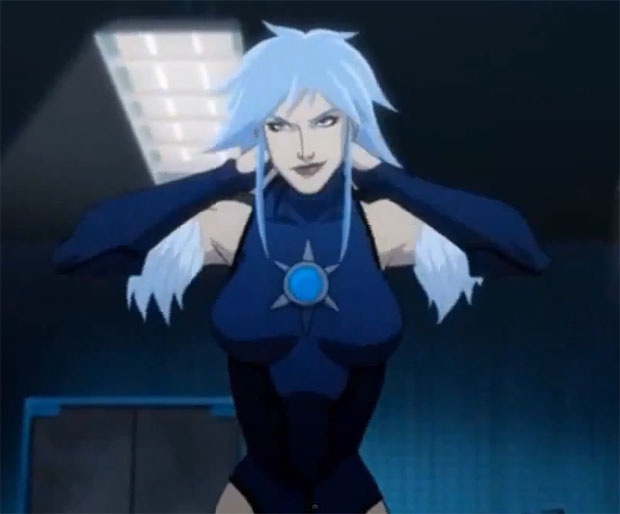 Killer Frost in Batman: Assault on Arkham
