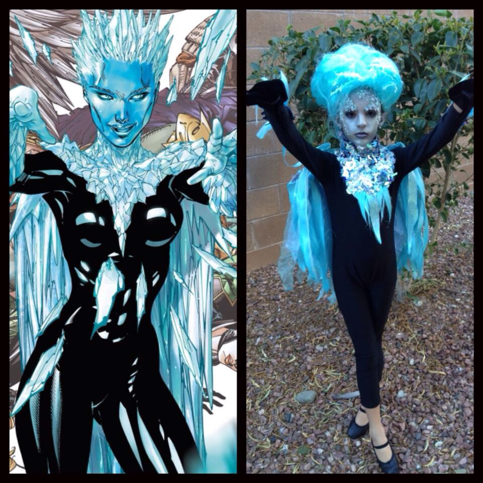 Killer Frost Cosplay Kid
