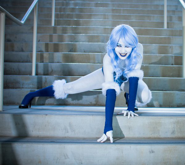 Kiwi5Frog as Killer Frost at SDCC 2011