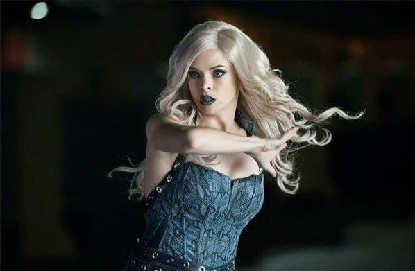 Danielle Panabaker as Killer Frost on The Flash
