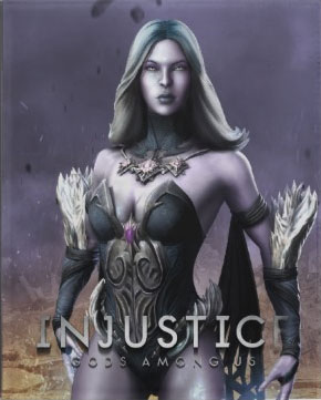 Killer Frost from video game -- Injustice: Gods Among Us